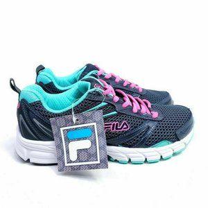 Fila Womens Size 6 Running Shoes Multicolor Foam